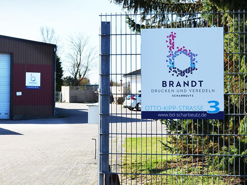 Druckerei Brandt an der Ostsee - Außenansicht